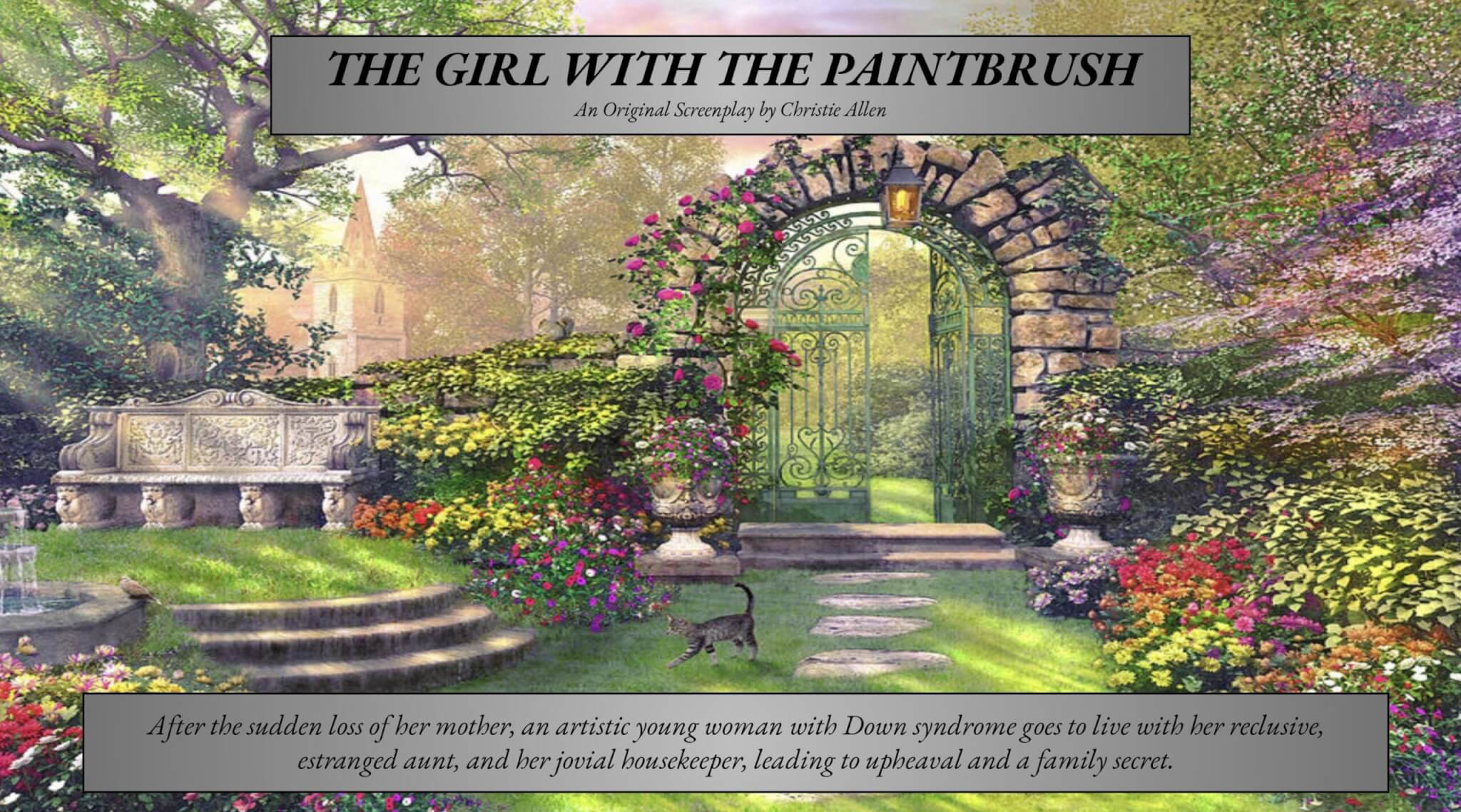 The Girl With The Paintbrush Pitch Deck